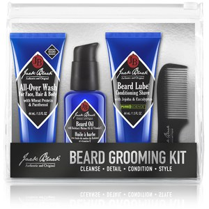 Jack Black Beard Grooming Kit 188 ml (Værdi: £27,00)