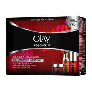 Olay Regenerist高级抗衰老入门套装(3×15ml)