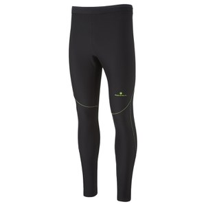 RonHill Men's Vizion Winter Tight - Black/Yellow