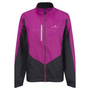 RonHill Women's Aspiration Windlite Jacket - Magenta/Black