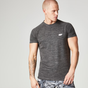 Myprotein Miesten Performance Short Sleeve Top - Musta