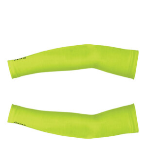 Primal HiViz Thermal Arm Warmers - Yellow