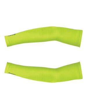 Primal HiViz Thermal Arm Warmers - Yellow