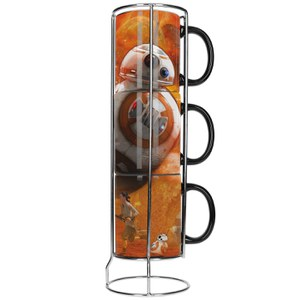 Lot De 3 Tasses Empilables BB-8 - Star Wars Épisode Vii