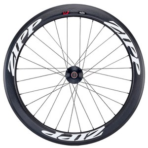 Zipp 404 Firecrest Tubular Track Rear Wheel - White Decal