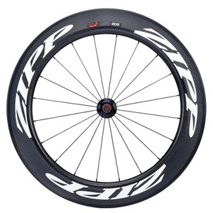 Zipp 808 Firecrest Tubular Track Front Wheel - White Decal