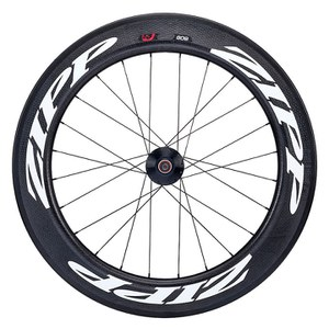 Zipp 808 Firecrest Tubular Track Rear Wheel - White Decal