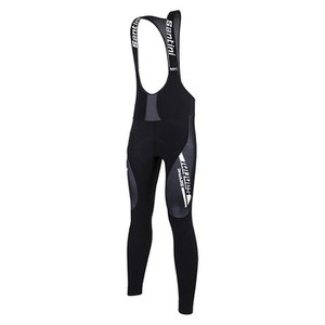 Santini Vega Aquazero Bib Tights - Black/White