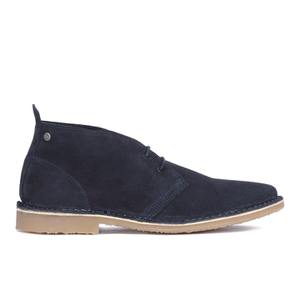 Jack & Jones Men's Gobi Suede Chukka Boots - Navy Blazer