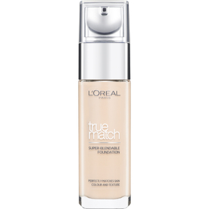 L'Oréal Paris True Match Liquid Foundation with SPF and Hyaluronic Acid - Ivory
