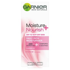 Garnier Moisture+ Nourish Daily Rich Moisturiser(50ml)