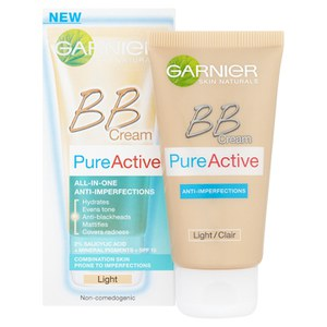 Garnier Pure Active BB Cream Light for Blemished Skin 50ml