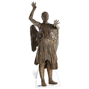 Doctor Who Weeping Angel Attacking Cut Out