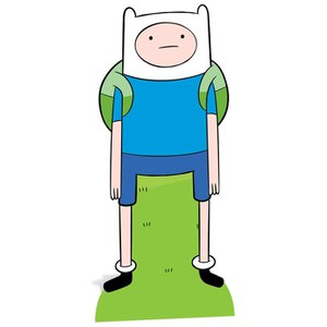 Adventure Time Finn Kartonnen Figuur