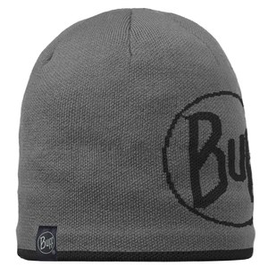 Buff Knitted and Polar Logo Hat - Graphite