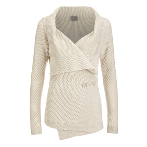 Vero Moda Women's Ripa Long Sleeve Cardigan - Oatmeal