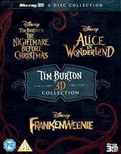Collection Tim Burton 3D (+2D)