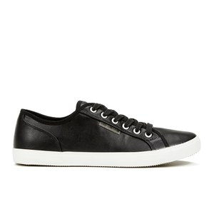 Voi Jeans Men's Chrome PU Trainers - Black