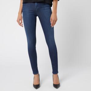 J Brand Womens Maria Denim Light Wash Skinny Jeans Blue 26