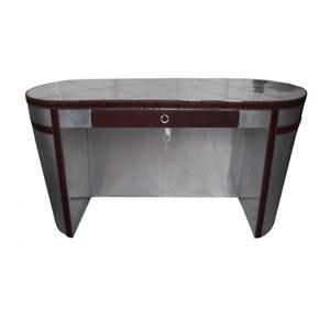 Aluminium and Leather Desk
