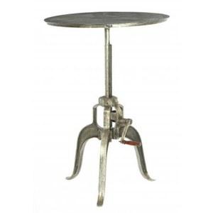 Adjustable Industrial Metal Coffee Table