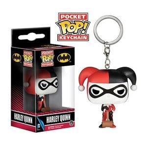 DC Comics Batman Harley Quinn Pop! Vinyl Keychain