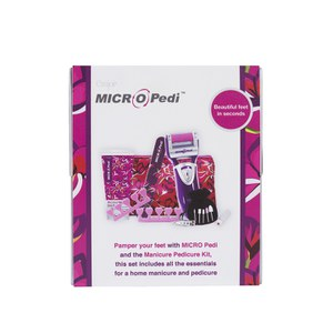 Emjoi MICRO Pedi Set da Regalo con Kit Manicure / Pedicure