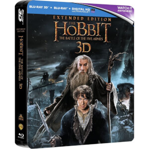 The Hobbit: The Battle of the Five Armies Extended 3D - Limited Edition Steelbook