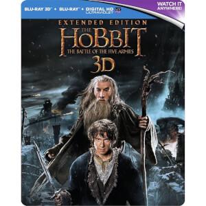 Le Hobbit : La Bataille des Cinq Armées Version Longue 3D - Steelbook Édition Limitée