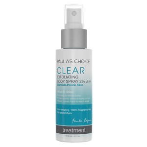 Espray corporal exfoliante 2 % BHA Clear de Paula's Choice (118 ml)