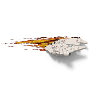 Star Wars Millennium Falcon 3D Light