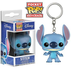 Disney Lilo And Stitch Stitch Pocket Pop! Vinyl Key Chain