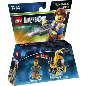 LEGO Dimensions, LEGO Movie, Emmet Fun Pack