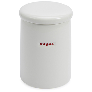 Keith Brymer Jones Sugar Storage Jar - White