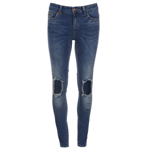 ONLY Women's Ultimate Skinny Jeans - Medium Blue Denim