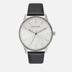 UNKNOWN Men's The Classic Watch - Black/Silver