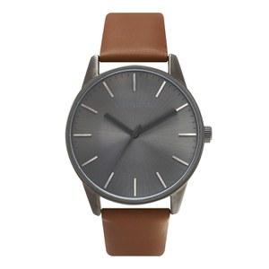 UNKNOWN Men's The Classic Watch - Tan/Gunmetal