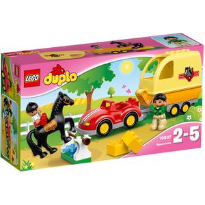 LEGO DUPLO: Wagen mit Pferdeanhänger (10807)