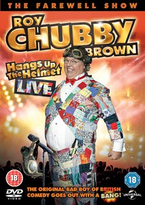 Roy Chubby Brown Hangs Up His Helmet