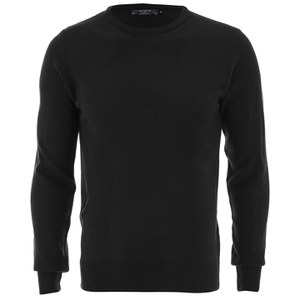 Kensington Eastside Men's Ralph Crew Neck Jumper - Black