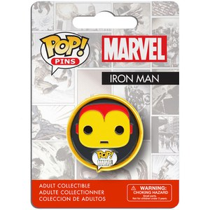 Marvel Iron Man Pop! Pin