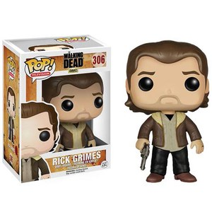 Figura Pop! Vinyl Rick Grimes - The Walking Dead