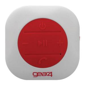 GEAR4 ShowerParty Waterproof Bluetooth Speaker - Red