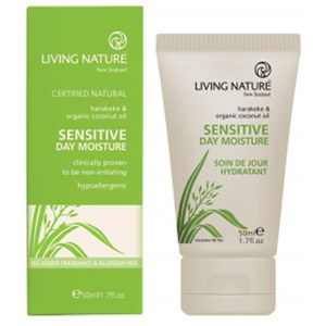 Crema de día Sensitive de Living Nature (50 ml)