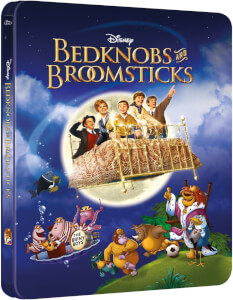 Bedknobs and Broomsticks - Zavvi Exclusive Steelbook Edition