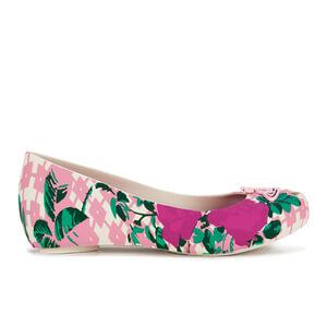 Vivienne Westwood for Melissa Women's Ultragirl 15 Ballet Flats - Pink Flower Orb