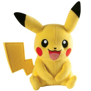 Pokémon Pikachu Soft Toy – Laughing Pose