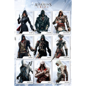 Assassins Creed Compilation - 24 x 36 Inches Maxi Poster