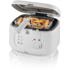 Swan SD6080N 2.5L Square Fryer - White