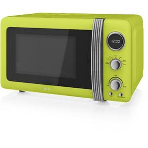 Swan SM22030LN Digital Microwave - Lime - 800W